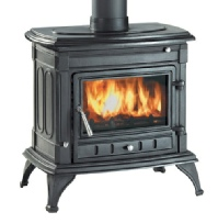 Clarke Majestic cast iron stove - wood burner