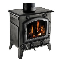 Clarke Regal cast iron stove - wood burner