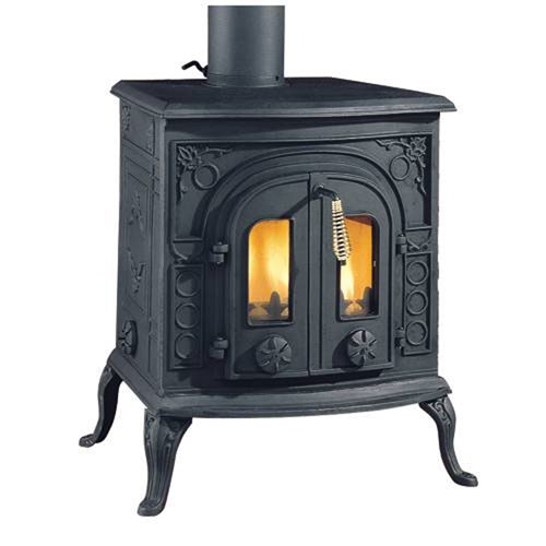 Clarke Victoria cast iron stove - wood burner