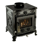 Clarke Cottager 2 cast iron stove and wood burner
