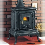 Clarke Parlour cast iron stove and wood burner