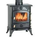 Clarke Buckingham cast iron stove and wood burner