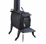 Clarke Boxwood cast iron stove - wood burner